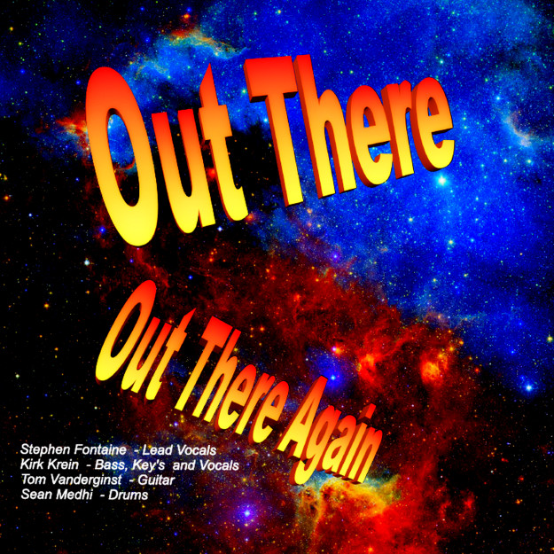 Out There Again Album Original Classic Rock Music By AZ Band Out There!